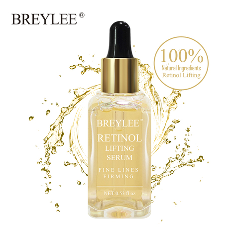 BREYLEE Retinol Lifting Firming Serum Collagen Essence Remove Wrinkle Anti Aging Face Skin Care Fade Fine Lines 100% Natural Pakistan