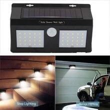 Walkway Lights Wall Light Home Security 40LED Solar Power Outdoor Garden Flashlight Street Motion Sensor Durable