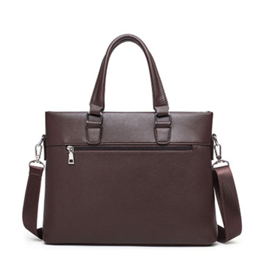 PU Business Laptop Briefcase Shoulder Male Lawyer Computer Business Bag Handbag Men Bolsa Executiva Masculina Man Bag Big 5GWB25(China)
