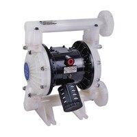 Pneumatic diaphragm pump BML 25P Double Way Pneumatic Diaphragm pump 159L/Min PTFE Liquid Circulation Pump