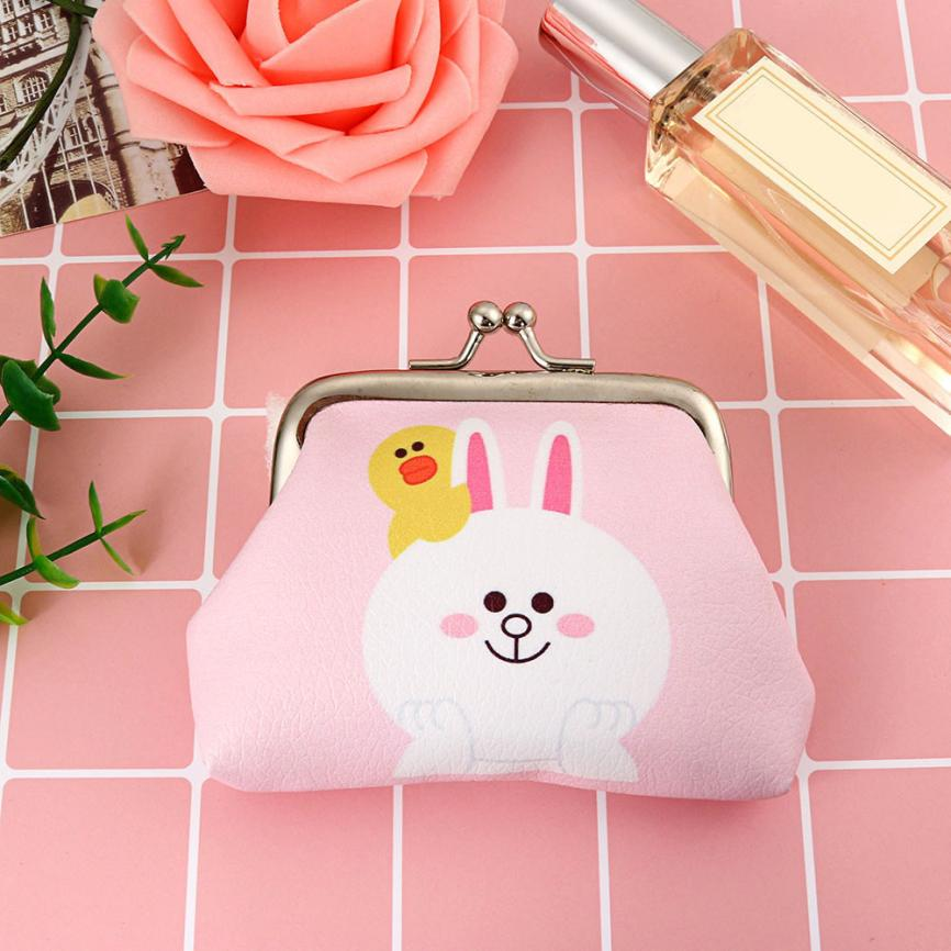 ximiu Fashion Women Lady Retro Vintage Leather Small Wallet Hasp Purse Clutch Bag new and high quality Coin Purse cute purse