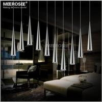 Modern LED Chandelier Light Fixture Acrylic DIY LED Hanging Suspension Lamp For Restaurant Dinning Room Home