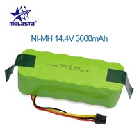 NI MH 14.4V 3600mAh Battery for panda X500 X600 Replacement battery for Ecovacs Mirror CR120 Vacuum cleaner Dibea X500 X580