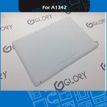 Полный новый A1342 белый Нижняя чехол для Apple Macbook A1342 13 «Unibody 604-1033 2009 2010 MC207 MC516 EMC 2350 EM2395