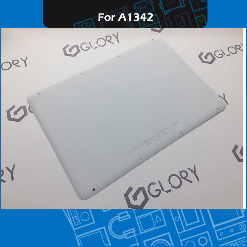 sports shoes 176c5 f0a2f Full New A1342 White Lower Bottom Case Cover For Apple MacBook A1342 13