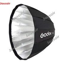 Godox Портативный P90L 90 см глубоко параболический Softbox Bowens крепление Studio вспышка Speedlite отражатель фотостудия Softbox CD50 A04
