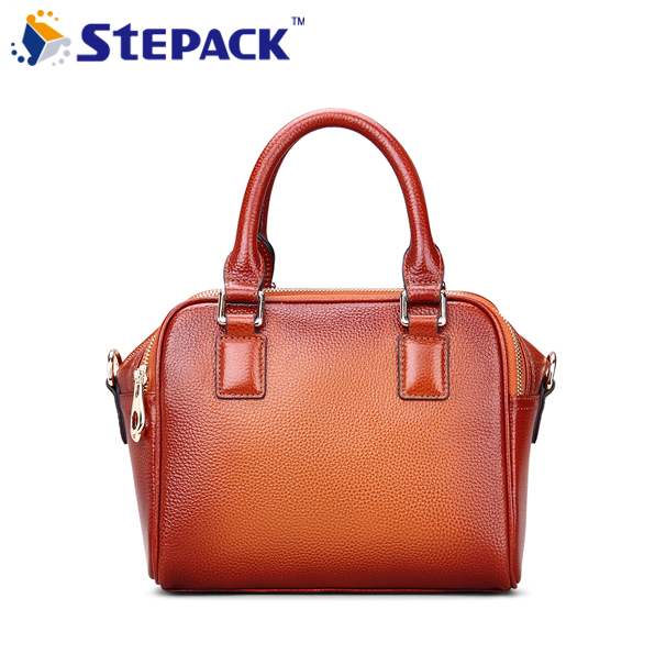 ФОТО 2016 100% Genuine Leather Leisure Women Messenger Bag Red Brown Ladies Shoulder Bag Vintage Handbag Bolsos WMB0200