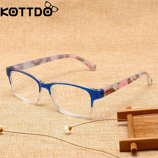 99a35dbf25 2018 New Resin Reading Glasses Wholesale Wrapping Flowers Presbyopic Glasses  for Men Women Prescription Glasses