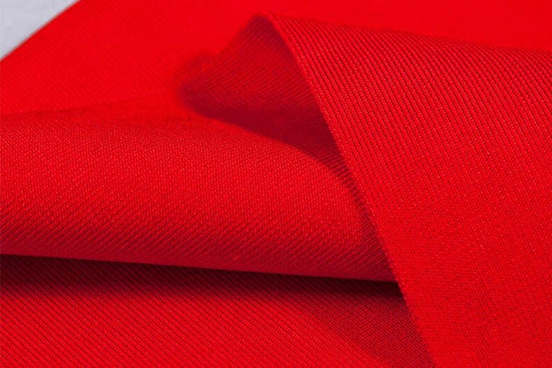 Красное, голубое, белое платье с лямкой на шее для нового года, женское Бандажное платье, сексуальная женская одежда вечерние ночные наряды, vestidos de fiesta 2019