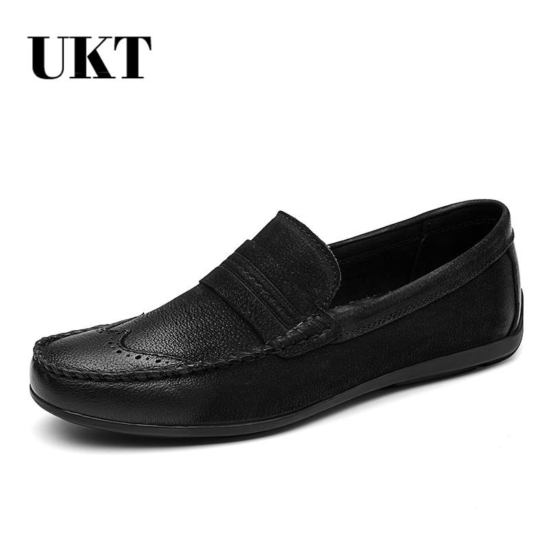 Hot Sale Shoes Men Spring/autumn Zapatillas Hombre Sapato Masculino Chaussure Homme Genuine Leather Casual Slip-on Solid luxury fashion men crystal flats metal pointed toe huarache slip on wedding shoes man 36 46 chaussure homme sapato masculino