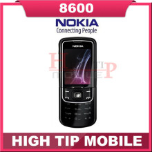Russian keyboard support Nokia Unlocked Original 8600 Luna Mobile cell phone Free shipping 1 year warranty Refurbished