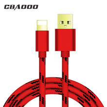 CBAOOO Data Cable for lightning 3A fast Charge Charging USB