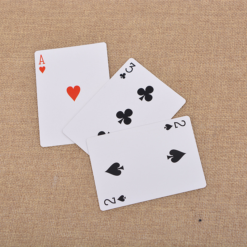 2pcs Hot.Magic ultimate 3 three card monte poke Trick Classic Sunflower.magic Card cubes d22