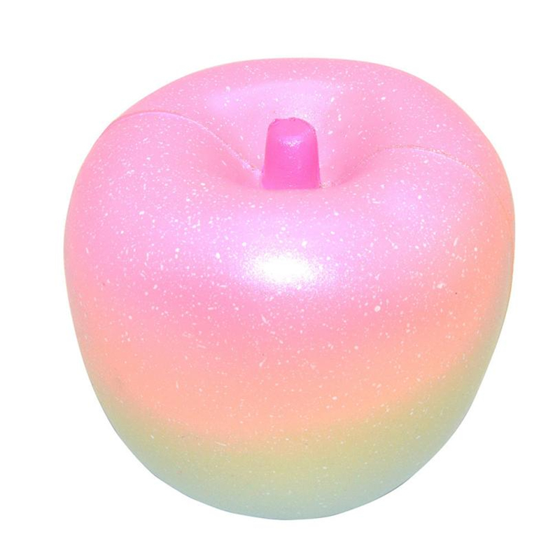 Cute Squishy Toys Stress Reliever 10cm Rainbow Apple Cream Scented Squishies Slow Rising Jumbo Toy 30S8530 drop shipping