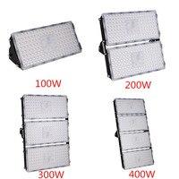 4Pcs Module LED Flood Light 100W 200W 300W 400W 110V 220V SMD 2835 Waterproof LED Outdoor