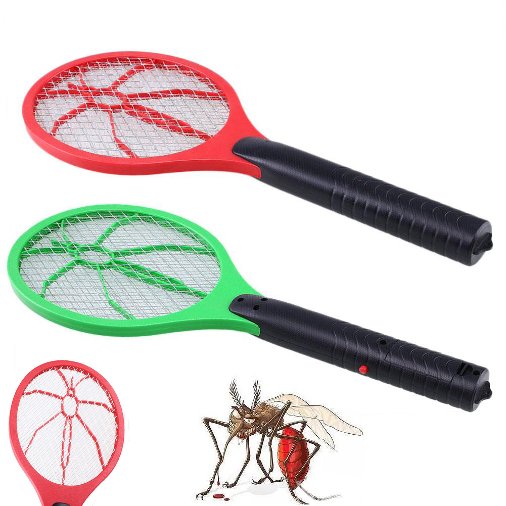 Three Layer Mesh Electric Swatter Pest Reject Mosquito Repeller Mosquito Killer Flying Insect Swatter Killer Drop shipping in Bug Zappers from Home Garden