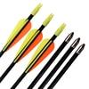 Wholesale 500Pcs 26 30 5 7mm Fiberglass Arrow Youth Shooting Practice Bullet Point Archery Bow Indoor