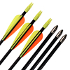 Wholesale 500Pcs 26 30 5 7mm Fiberglass Arrow Youth Shooting Practice Bullet Point Archery Bow Indoor