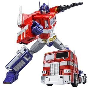 Image 3 - שינוי OP מפקד WJ MPP10 MP10 G1 סגסוגת פעולה איור רובוט רכב Oversize מעוות צעצועי ילדים מתנות