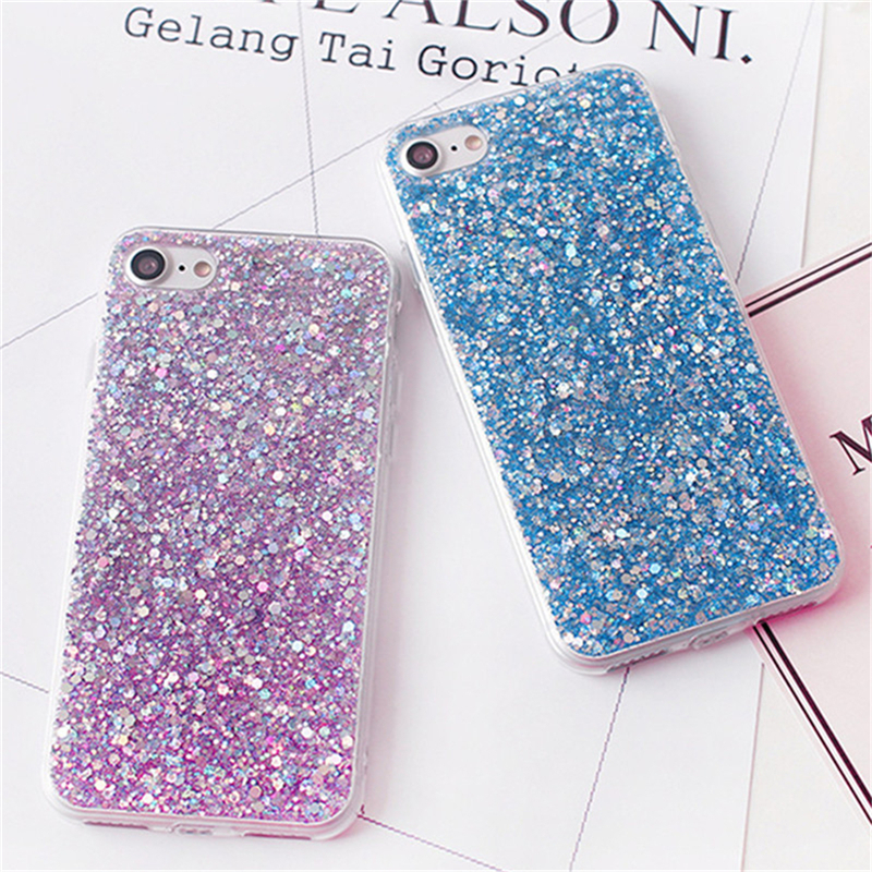 Cellphones & Telecommunications Eleteil Bling Crystal Sequins Case For Iphone 7 Case 6 6s 7 8 Plus Silicon Bglitter Soft Cover For Iphone X Xr Xs Max E40 Non-Ironing
