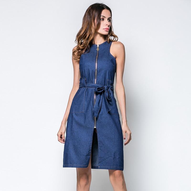 Jeans Dress Denim Sundresses For Women Dress Plus Size Denim
