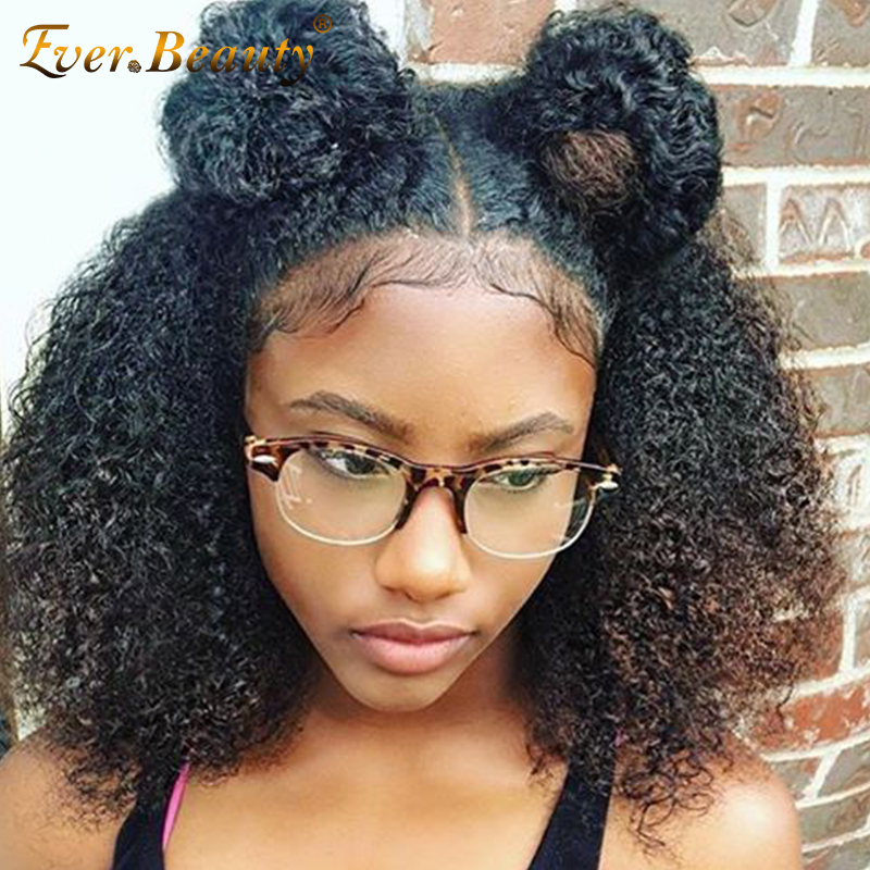 Aliexpress Com Buy Afro Kinky Curly 360 Lace Frontal