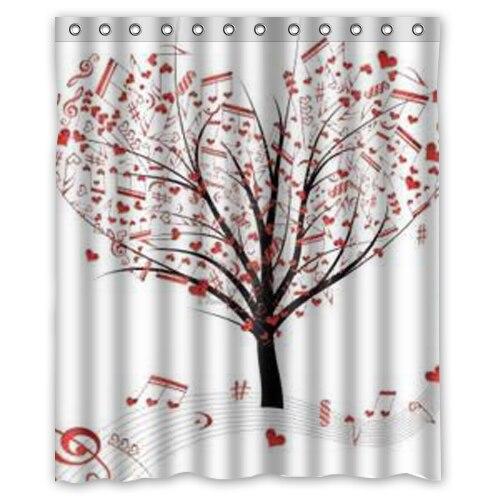 Love Tree Shower Curtain 60 X 72 Inch Bathroom