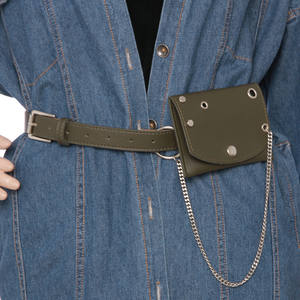 e104d31afc Jafenmy Chain Waist Belt Women Leather Belt For Female