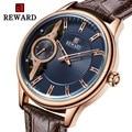 Skeleton Uhr 2019 Sport Mechanische Armbanduhr Luxus Herren Uhren Top Marke Leder Montre Homme Uhr Männer Automatische Uhr