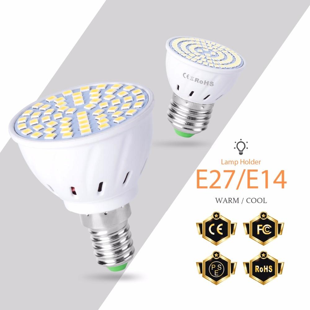 Led E27 E14 Corn Bulb MR16 GU5.3 220V Candle Lamp GU10 More Bright B22 AC 230V 4W 6W 8W Spotlight Led Light for Home Decoration