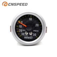 CNSPEED 52mm Psi Turbo Boost Gauge Meter WIth Sensor Machinery Psi Carbon Fiber Face Turbo Boost Meter YC100031