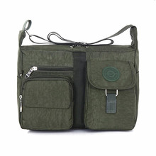 Men's Travel Bags Cool Canvas Bag Fashion Men High Quality Bolsa Feminina Messenger Shoulder Bags School Book Bag Z52