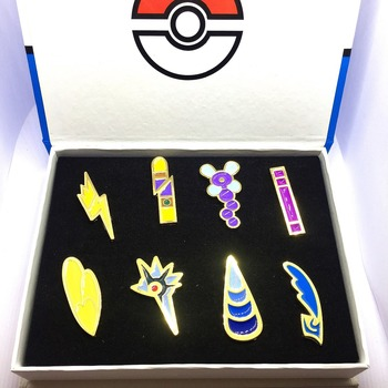 Pokemon - Pokemon League Badges 8pcs/set 1