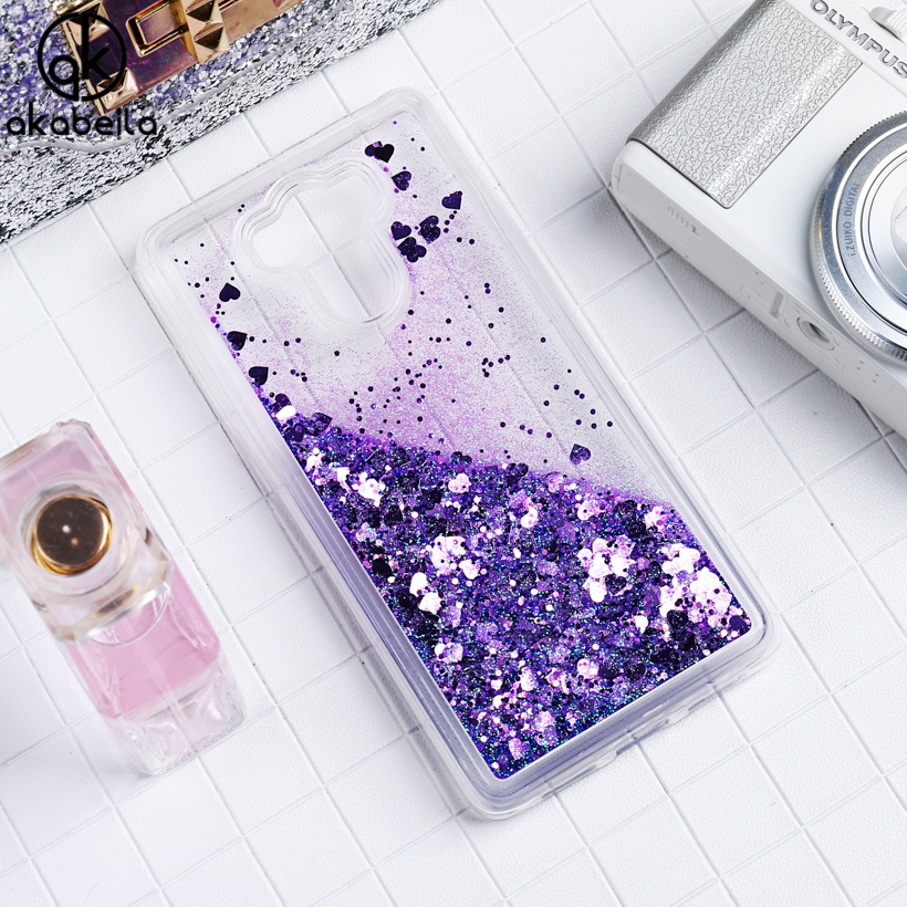 AKABEILA Liquid Glitter Soft Phone Cases For <font><b>Xiaomi</b></font> <font><b>Redmi</b></font> <font><b>4</b></font> <font><b>Pro</b></font> <font><b>Redmi</b></font> <font><b>4</b></font> <font><b>Prime</b></font> <font><b>3GB</b></font> <font><b>32GB</b></font> 16GB ROM <font><b>Redmi</b></font> 4S <font><b>Prime</b></font> Covers PC Bags image