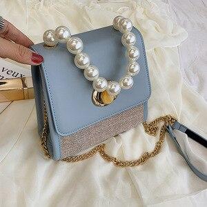 Female Crossbody Tote Bags For Women 2019 Quality Leather Luxury Handbag Designer Sac Main Beading Ladies Shoulder Messenger Bag