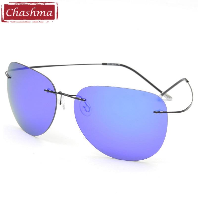 14216574a تشاشما جديد أزياء العلامة التجارية مصمم التيتانيوم سوبر ضوء بدون شفة الشمس  المستقطبة نظارات الصيد جودة القيادة النظارات الشمسية الرجال
