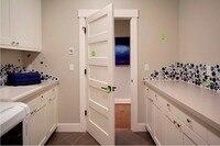 2016 hot sale highly durable entry solid wood door wooden interior door hotel security doors antique villas door ID1606002