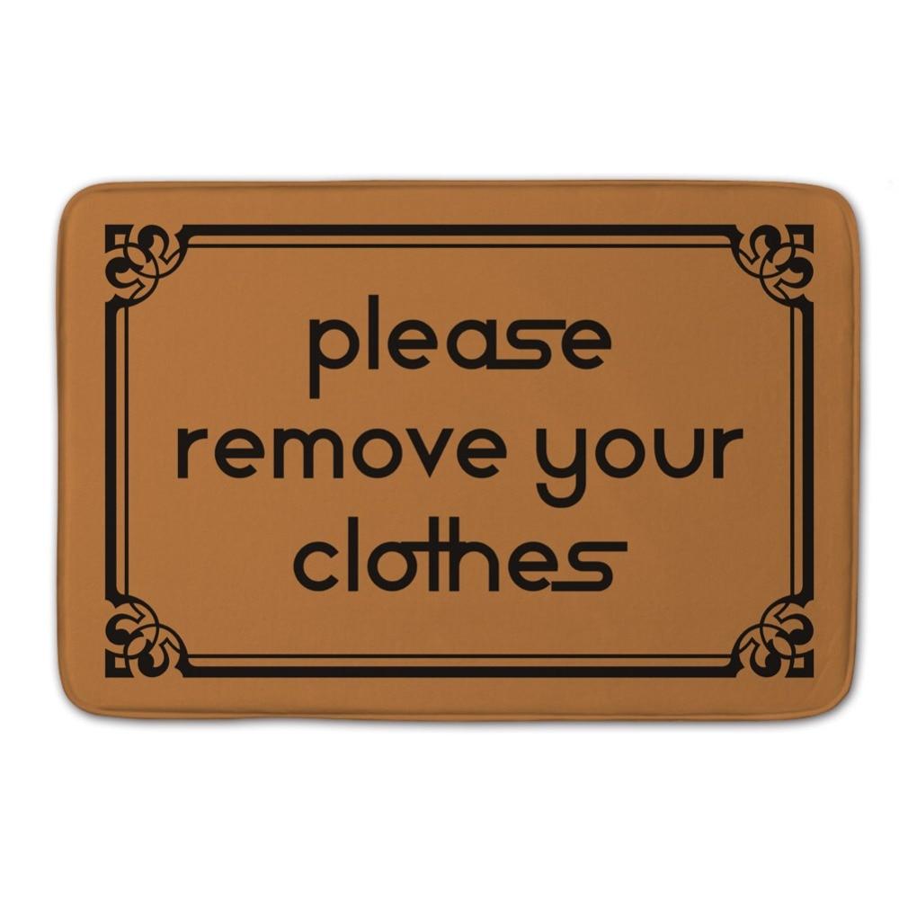 40*60 cm \'\'please entfernen ihre clothes\'\' Monogramm Stilvolle ...