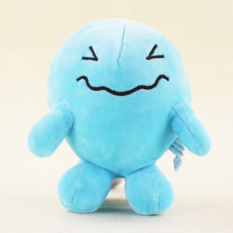 13cm Anime Wobbuffet Plush Toys Cartoon Character Kawaii Soft Stuffed Animals Doll Gift for Kids