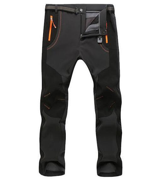 Inverno Pantalon Camping Randonnee Homme Impermeabile Softshell - Abbigliamento sportivo e accessori