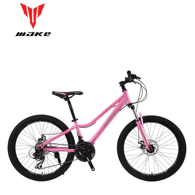 Make Steel Frame, Bike 24 Wheel, 24 Speed SHIMANO
