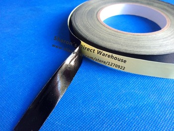 (5mm~60mm width Choose) Black Acetate Cloth Single Adhesive Tape Insulate for Motor Coil Wire LCD, Black Fabric&Glue 30M 1