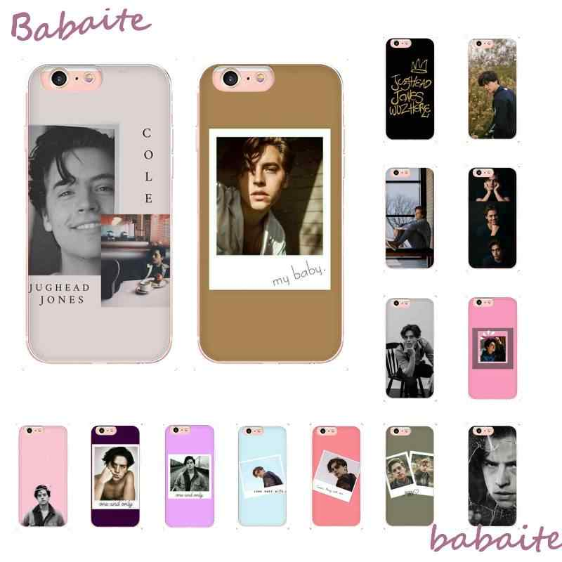 Babaite riverdale cole sprouse Jughead Jones Phone Case for iPhone 6S 6plus 7 7plus 8 8Plus X Xs MAX 5 5S XR 11 11pro 11promax