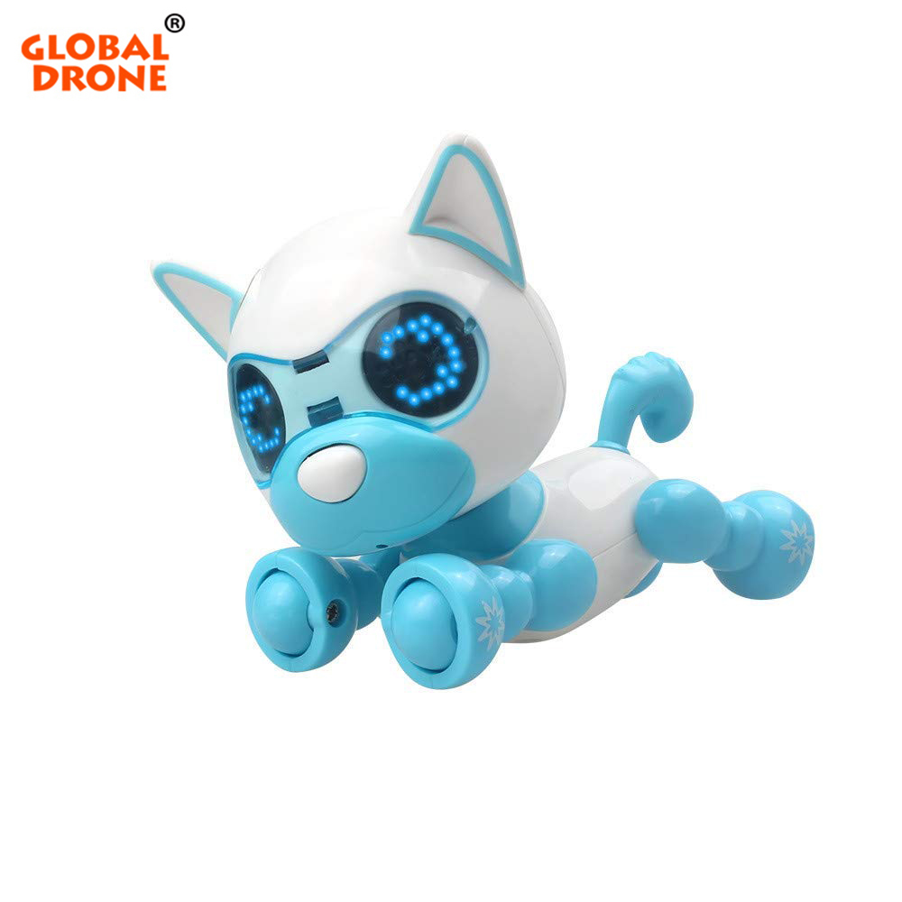 Robot Dog Interactive Toy Birthday Gifts Christmas Present Toy for Children Robotic Puppy Toys for Boys Girls-in RC Robot from Toys & Hobbies