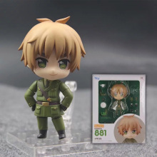 10cm Nendoroid Hetalia The World Twinkle figure Cartoon Axis Powers Arthur Kirkland 881# Q Version Model