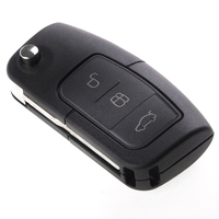 3 Buttons Replacement Remote Auto Key For Ford Focus Mondeo Fiesta Frequency 433 92Mhz Car Key