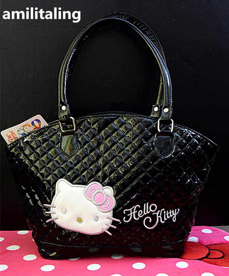 Nova Olá kitty Bolsa de Compras Sacola Ombro Bolsa yey-826B