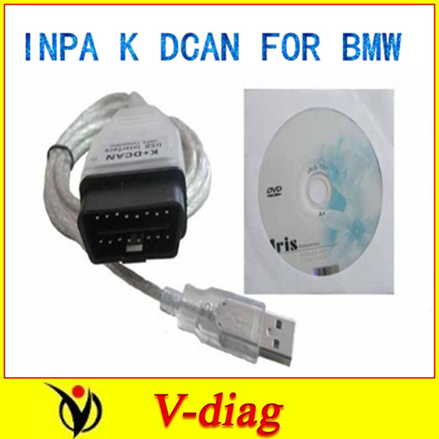 with FT232RL chip cable for INPA K+ D CAN 2016 newest ver SUPER QUALITY  with one year free warranty and free shippment