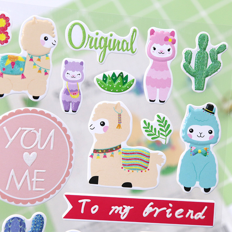 1pack/1lot Kawaii Stationery Stickers Unicorn Flamingo Diary Planner Decorative Mobile Stickers Scrapbooking Diy Craft Stickers Crazy Price