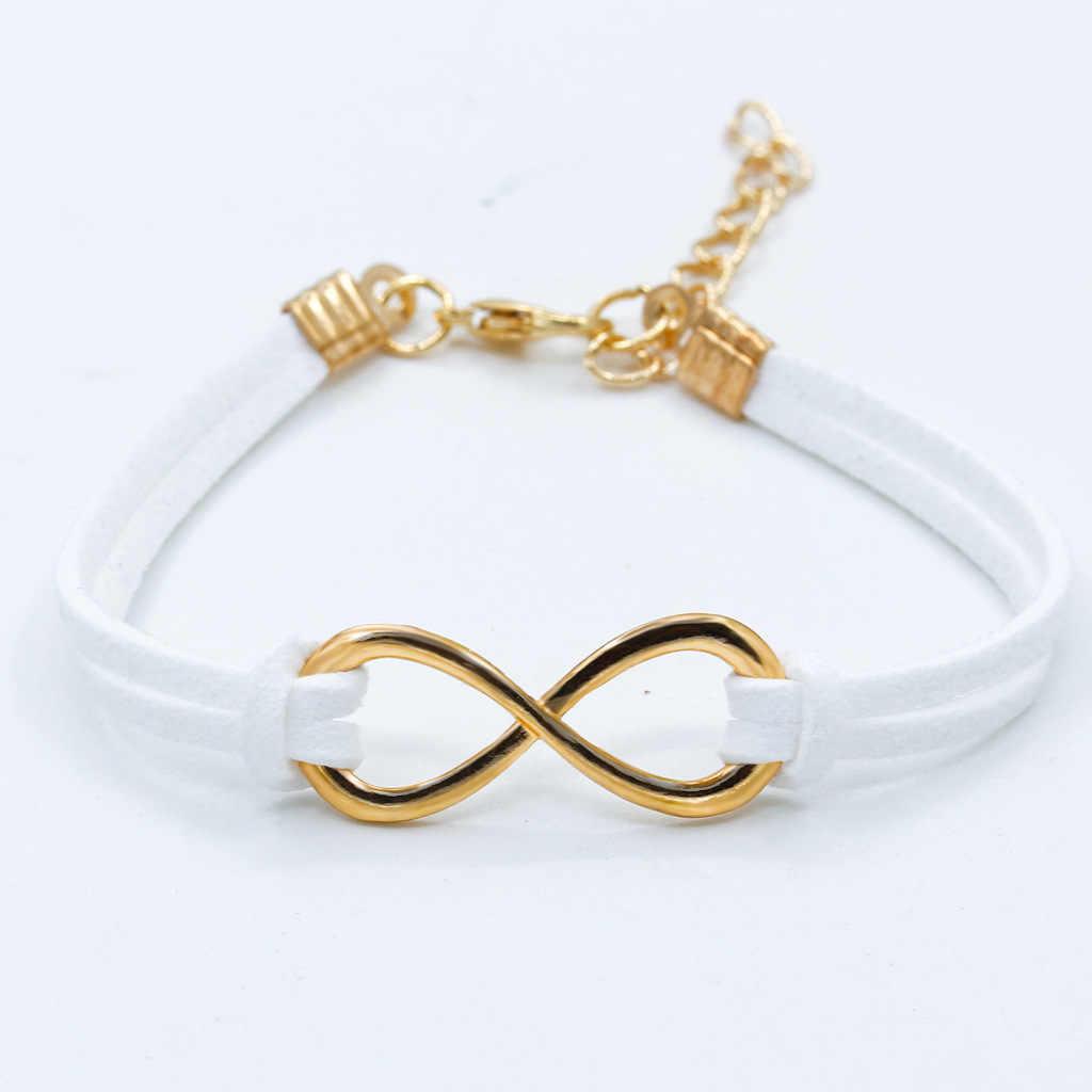 Модные новые ювелирные аксессуары Простые цветные 8 формы бархатные браслеты женские обручальные Подарки для девочек один 2017 M0206